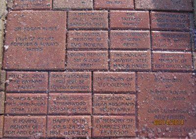 Memorial Program Bricks