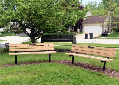 Buchanan Park Memorial Benches