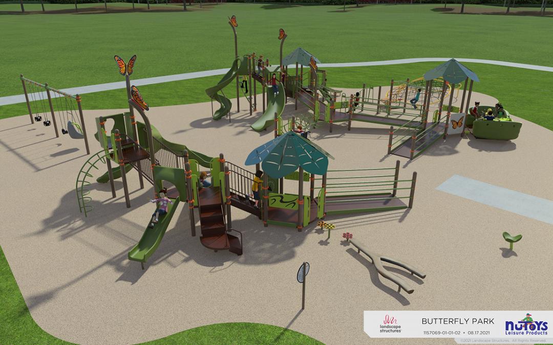 Butterfly Park Renovations